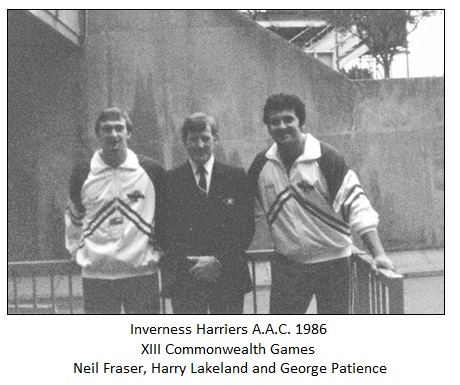 1986 Harriers - CG team
