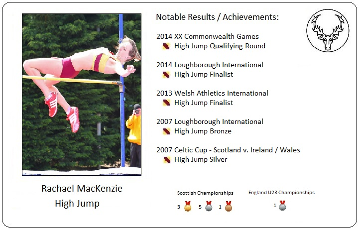 Athlete Profile - Rachael MacKenzie